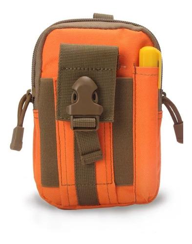 mochila bolso tactico porta celular cartera senderismo