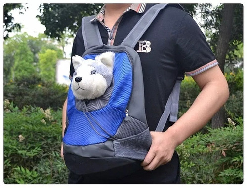 mochila bolso transporte mascota perros cachorros gatos