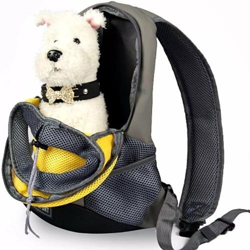 mochila bolso transporte mascota perros raza pequeña  gatos