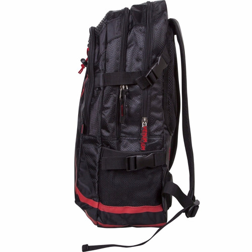 mochila box artes marciales venum negra roja *envio gratis