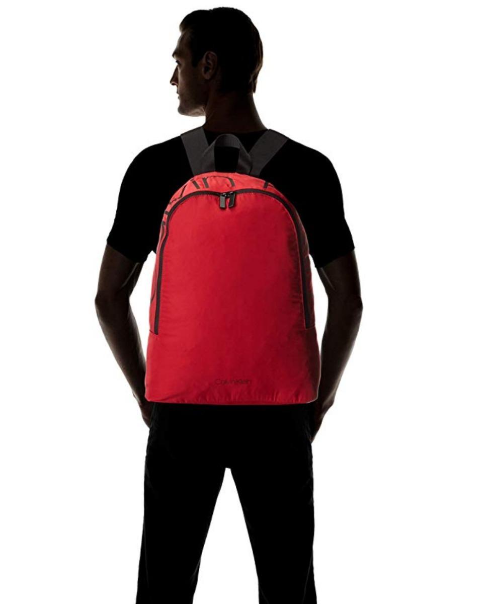 ccda90fa0d1 mochila calvin klein hombre roja importada. Cargando zoom.