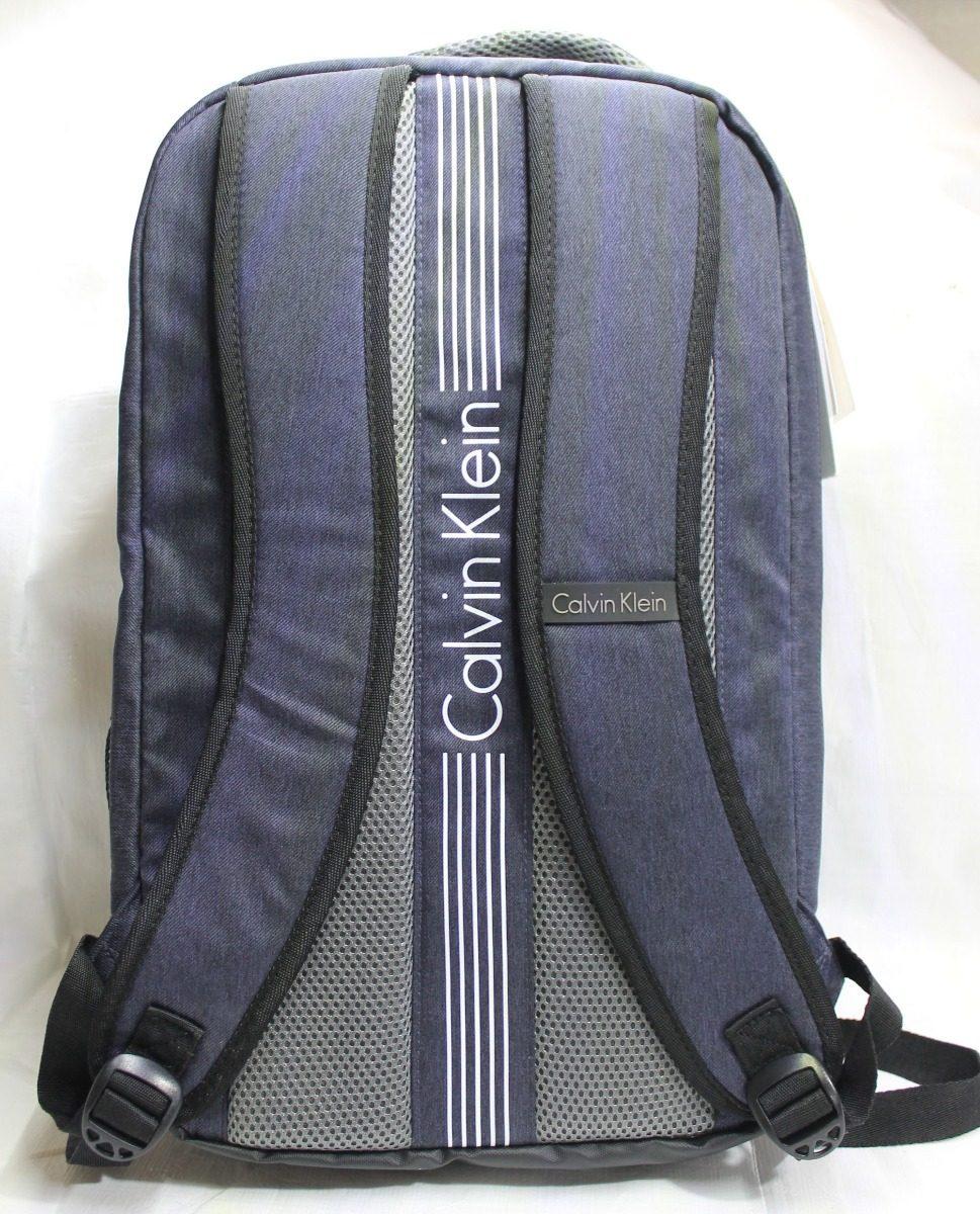 95cc09d63e0 mochila calvin klein laptop backpack azul escuela oficina. Cargando zoom.