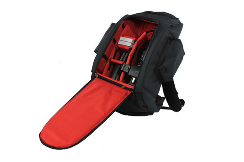 mochila cámara fotografica y video-lente-flash (58x29x20)