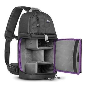 Mochila negra con protector contra la lluvia para Nikon D3400//D5600//D7500//1 J1//J2 Cámaras