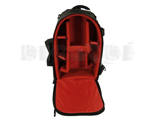 mochila cámara video ocular tipo ex3 - lente-flash 53x31x24