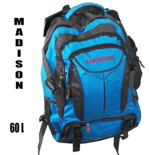 mochila camping / aventura/ viajes cortos  madison 60 l