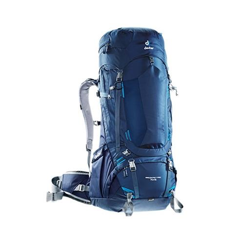 mochila camping cargueira deuter aircontact 70+15 l + brinde