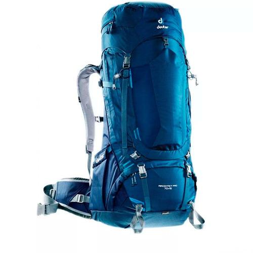 mochila camping cargueira deuter aircontact 70+15 litros az