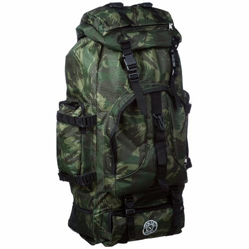mochila camping impermeável grande militar viagem mochileiro