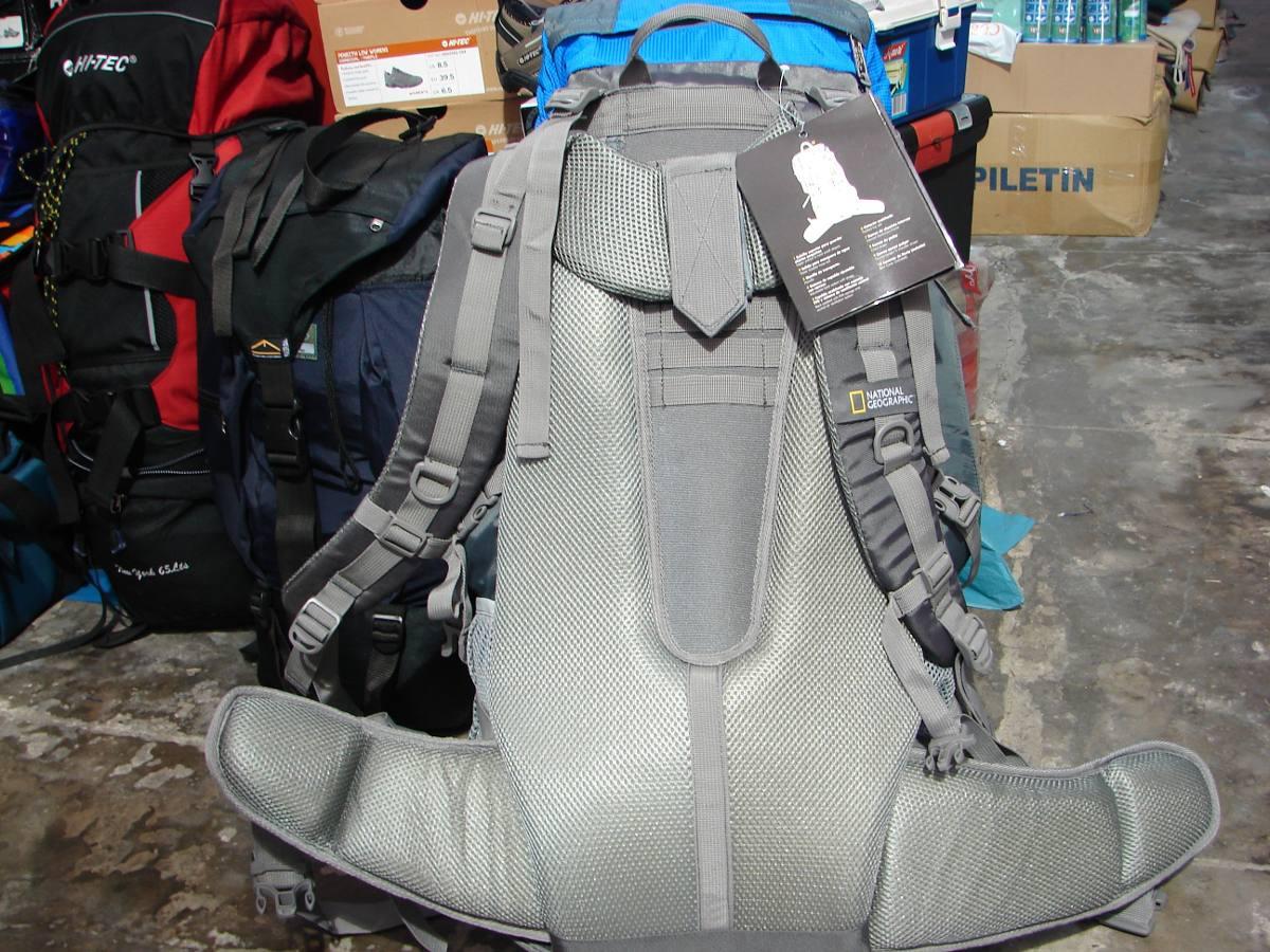 Mochila Camping Mochilero National Geographic Everest 75 Lts