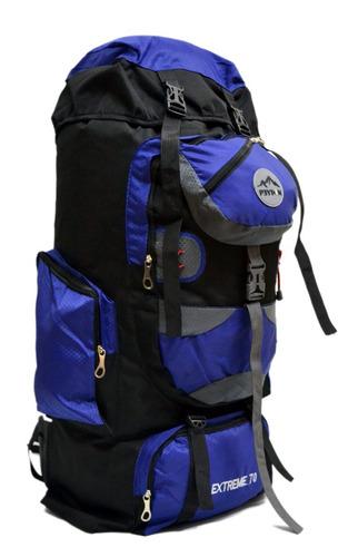 mochila camping mochilero peyton 70 lt viajes + cobertor