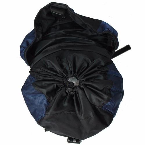 mochila camping trilha 70l litros impermeavel mc3102 azul