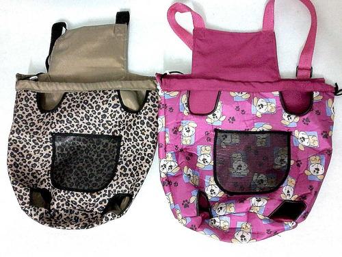 mochila canguru cães bagdog bolsa front transporte cachorros
