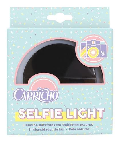 mochila capricho liberty black 11323 + selfie light