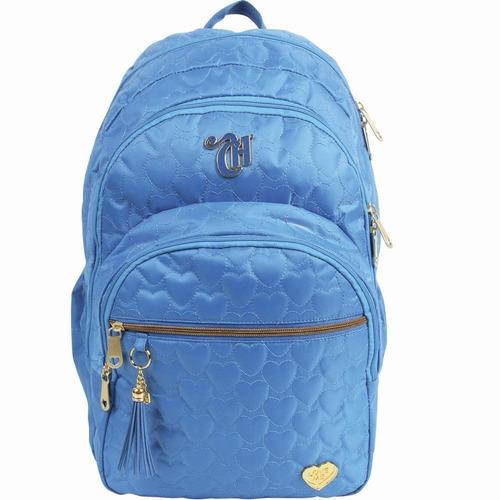 mochila capricho love blue  g dermiwil- 10969