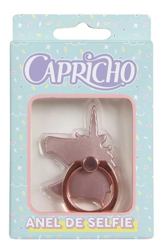 mochila capricho unicornio 11306 + anel de selfie