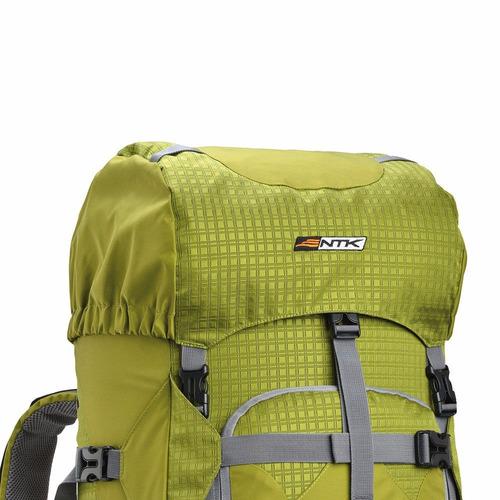 mochila cargueira kompaz 70+15l nautika camping caminhada