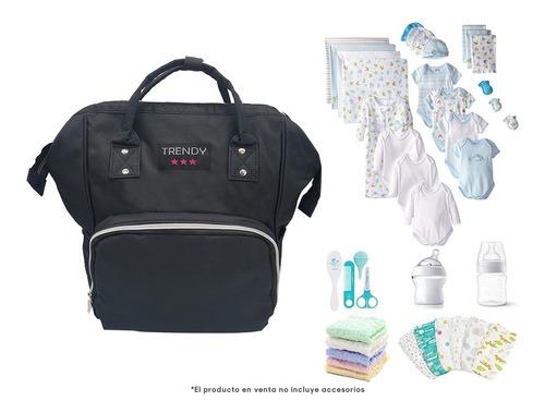mochila cartera maternal futura mamá bolsillos térmica bebe