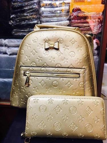 mochila cartera y billetera louis vuitton imitación