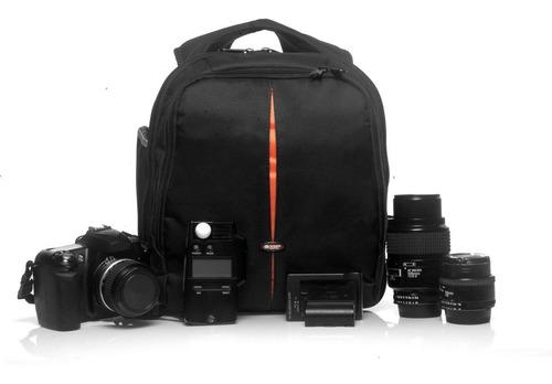 mochila case fotografia câmera digital canon nikon sony west