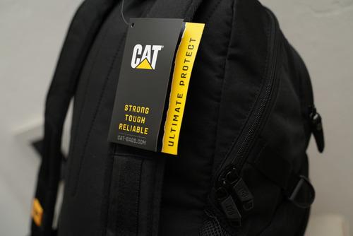 mochila caterpillar cat ben 2 nootbook resistente anti robo