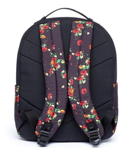 mochila cavalera floral original reforçada moderna fashion