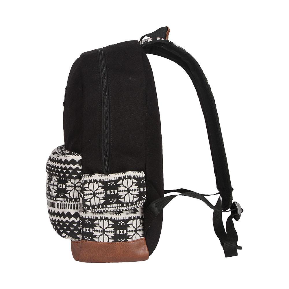 0c4e7053a Mochila Cavalera Mary Preto Branco - R$ 157,29 em Mercado Livre