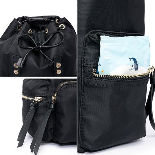 mochila cavalera moda feminina luxo fashion preta resistente