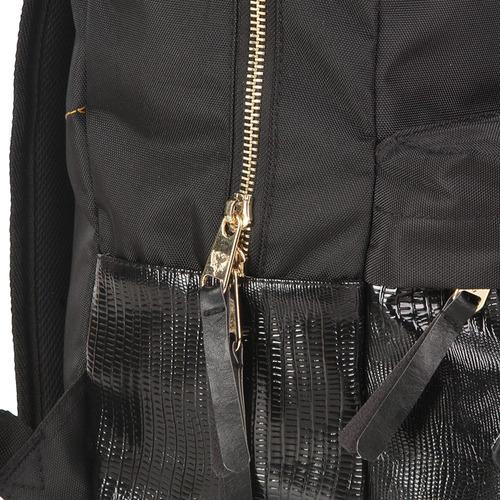 mochila cavalera shine feminina preta resistente reforçada