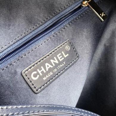 c8c9313bd5bd Mochila Chanel Tweed Nylon Astronaut Navy Blue 100% Original - R ...