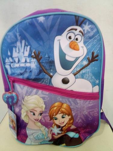 mochila chica frozen