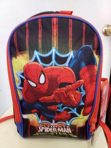 mochila chica spiderman
