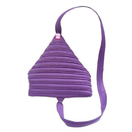 mochila cierres violeta - belgrano