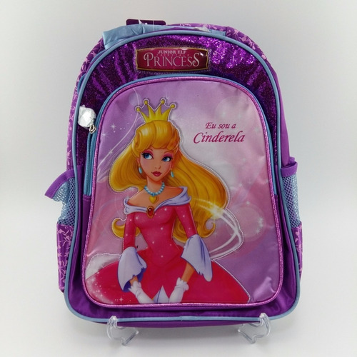 mochila cinderela princesa luxcel - 31831