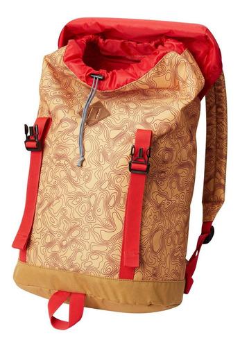 mochila classic outdoor 25l daypack mostaza
