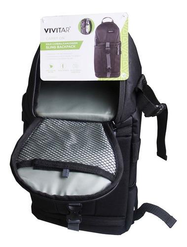 mochila câmera acessórios
