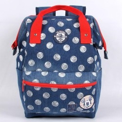 1e2ce63bc Mochila Com Alças Jeans The Original Mickey Mouse Disney - R$ 242,90 ...
