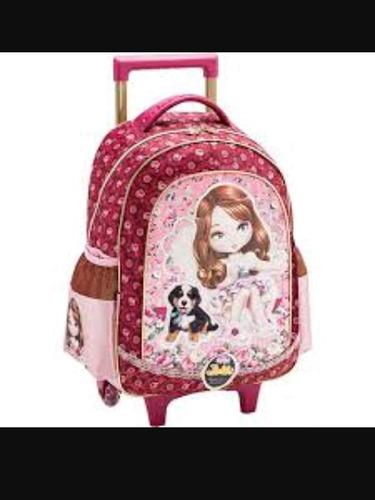 mochila com rodinha escolar