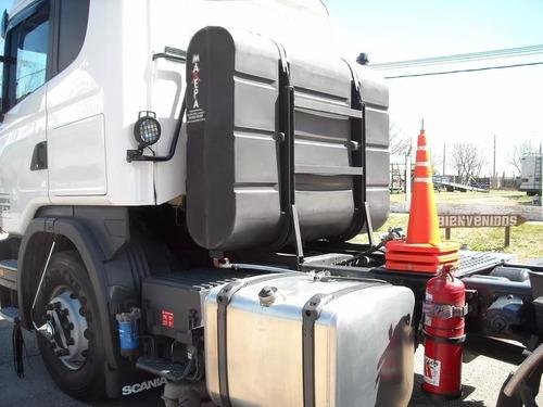 mochila combustible camión