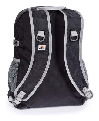 mochila compactable ascent 20 negro doite