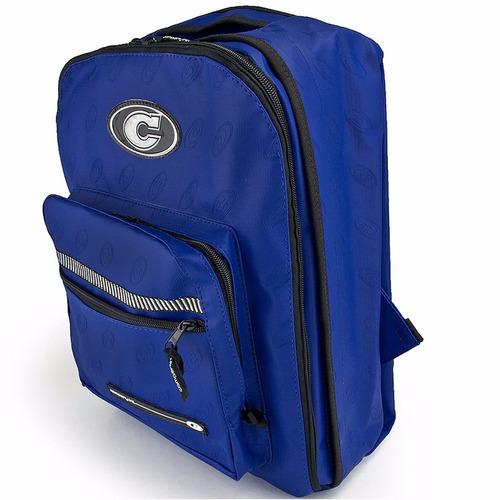 mochila company original azul royal