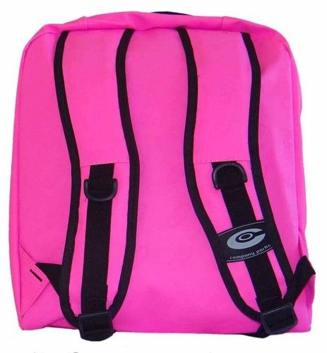 mochila company rosa chock impermeável original 28 litros