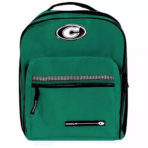 mochila company verde bandeira grande impermeável 28 litros