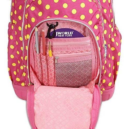 mochila con bolsa de almuerzo j mundo nueva york lollipop ni