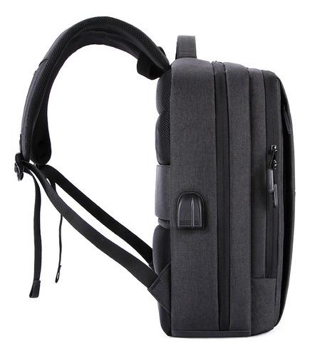 mochila con cargador usb para celulares ipad waterproof
