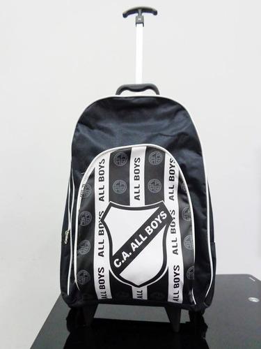 mochila con carrito de all boys