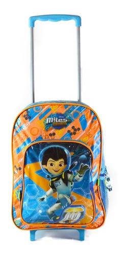 mochila con carrito miles del mañana -  42x28x15 cms