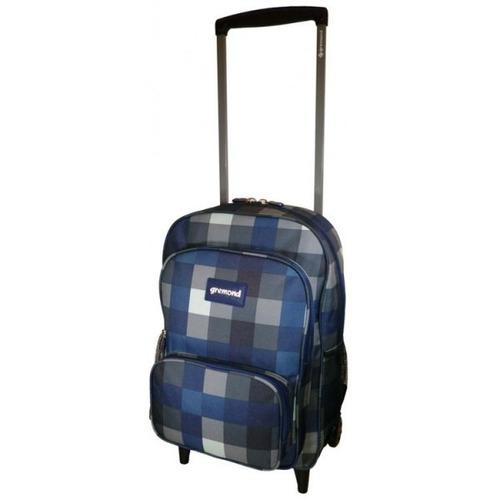 mochila con carro marca gremond kids 26 litros cuadros