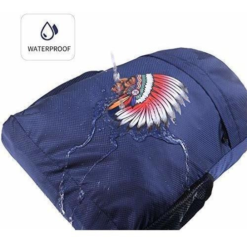 mochila con cordón para deporte gimnasio impermeable para ho