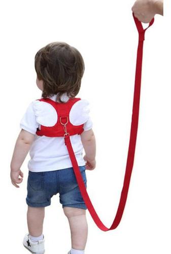mochila con correa de arnés antipérdida para niños